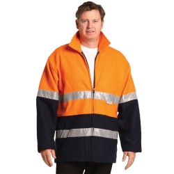 HI-VIS TWO TONE BLUEY JACKET - SW31A