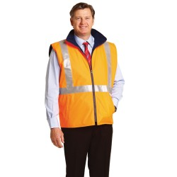 High Visibility Reversible Safety Vest - SW37