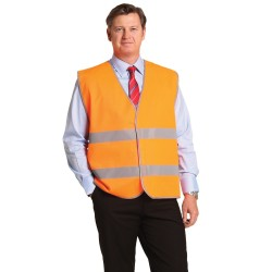 High Visibility Safety Vest With Reflective Tapes - SW44