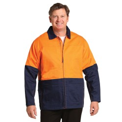 HI-VIS COTTON JACKET - SW45