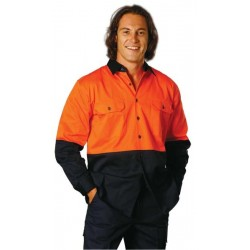 High Visibility LongSleeve Work Shirts - SW54