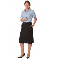 Womens A-line Utility Lined Skirt - M9478