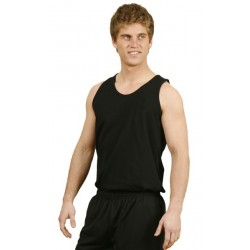 Mens Cotton Singlet - TS18
