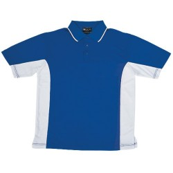 BREEZEWAY MENS PANEL POLO - CP0528