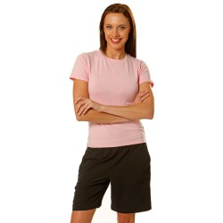 200gsm 95% Cotton, 5% Elastane Ladies Fitted Stretch Tee Shirt -