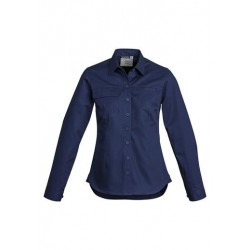 Woman's Long Sleeve Tradie Shirt - ZWL121