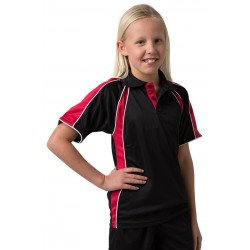 Kids 100% Polyester Cooldry Micromesh Polo - THE ROZELLA