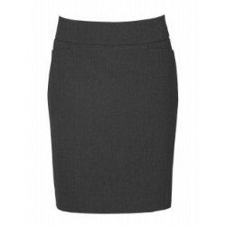 LADIES CLASSIC KNEE LENGTH SKIRT - BS128LS