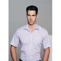 Mens Henley Short Sleeve Shirt