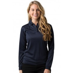 Ladies 100% Polyester Cooldry Micromesh Long Sleeve Polo - THE PHOENIX