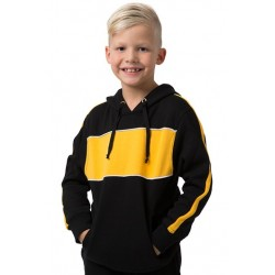 Kids 65% Polyester 35% Combed Cotton Anti Pill Hoodie - BSHD11K