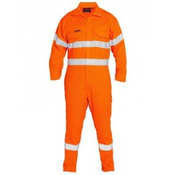 HI VIS TAPED FR VENTED COVERALL TECASAFE PLUS 700 - BC8085T