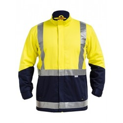 3M TAPED HI VIS 3-IN-1 DRILL JACKET - BJ6970T