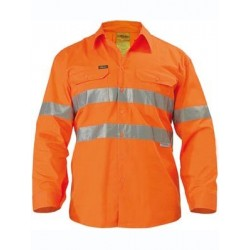3M TAPED COOL LIGHTWEIGHT HI VIS SHIRT L/S - BS6897