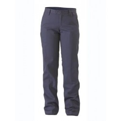 WOMENS COTTON DRILL WORK PANT - BPL6007