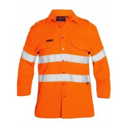HI VIS TAPED FR VENTED SHIRT L/S - BS8081T