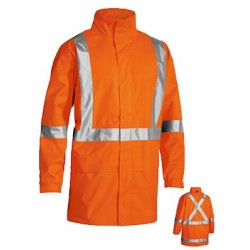 TAPED SHELL JACKET WITH X BACK - BJ6968T