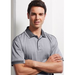 Mens Bizcool Noosa Self Check Polo - P9100