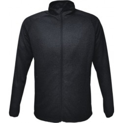 MENS LIGHT WEIGHT FLEECE ZIP THROUGH JACKET - CJ1453