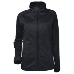 LADIES LIGHT WEIGHT FLEECE ZIP THROUGH JACKET - CJ1454