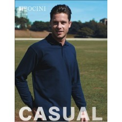 MENS LONG SLEEVE BASIC POLO - CP1401