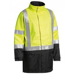 3M TAPED TWO TONE HI VIS ANTI STATIC WET WEATHER JACKET - BJ6963T