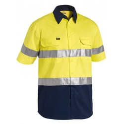3M TAPED TWO TONE HI VIS COOL LIGHTWEIGHT SHIRT - SHORT SLEEVE - BS1896
