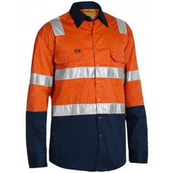 3M TAPED TWO TONE COOL LIGHTWEIGHT SHIRT - BS6432T
