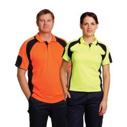 Men's CoolDry Safety Polo with Underarms mesh - SW61
