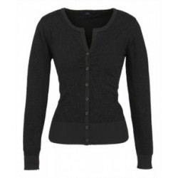 Ladies Origin Merino Cardigan - LC131LL