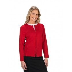 Ladies 2 Way Zipper Cardigan - LC3505