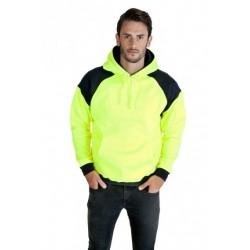 MENS CONTRAST HI VIS FLEECE - F303HPW