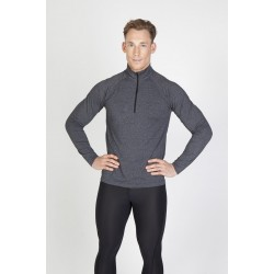 Mens Greatness Heather Half-Zip - F389HZ
