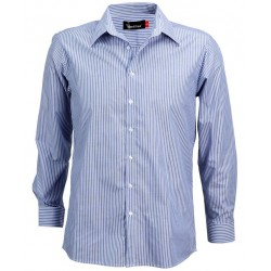 Men's Long Sleeve Corporate Stripe Shirt - W41