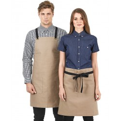 Canvas Bib Apron - A16