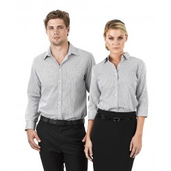 Ladies Short Sleeve Corporate Check Shirt - W39