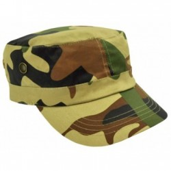 Camo Military Cap/Premium Cotton Twill - AH817