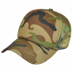 Camouflage Trucker Cap/Polyester & Mesh - AH296