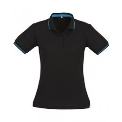 LADIES JET SHORT SLEEVE POLO - P226LS