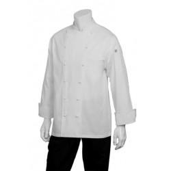 Henri White Executive Chef Jacket - CCHR