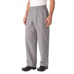 Black Basic Baggy Pants w/ Zipper Fly - NBMZ