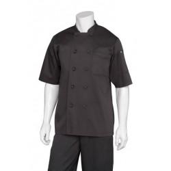 Chambery Black Basic Chef Jacket - BLSS