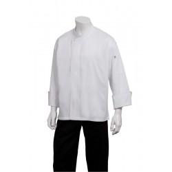Capri Premium Cotton Short Sleeve Chef Jacket - ECSS