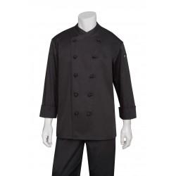 Montpellier Black Basic Chef Jacket - COBL