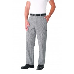 Checkered Basic Chef Pant - BWCP