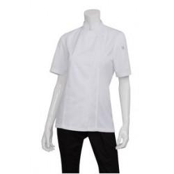 Springfield Ladies Lightweight Zipper Chef Jacket - BCWSZ006
