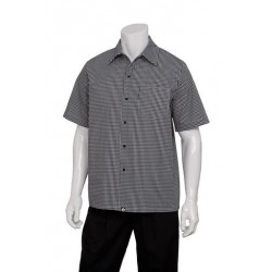 Solid Check Cook Shirt - CSCK