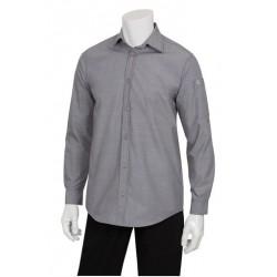 Chambray Dress Shirt (Men's) - SLMCH005