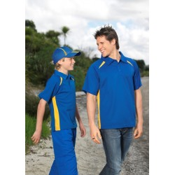 Adults Bizcool Splice Polo - P7700