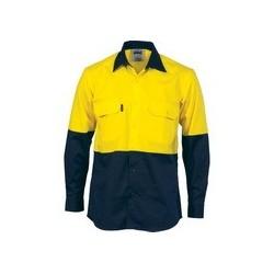 HiVis C/Breeze vertical vented Shirt No Tape - 3732